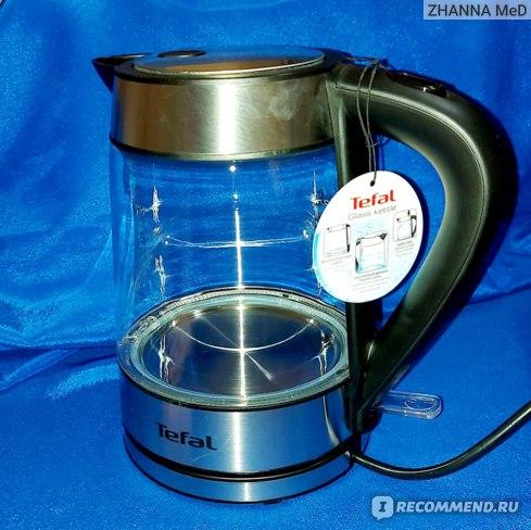 Электрочайник Tefal Glass kettle KI730D30 отзывы
