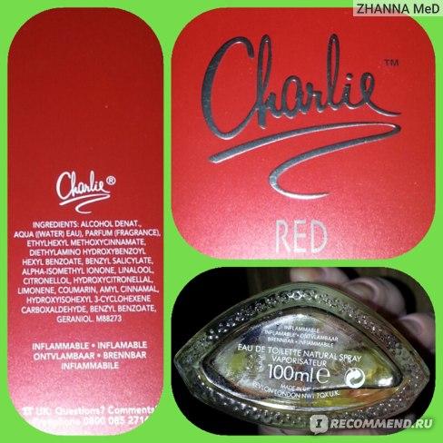 Revlon Charlie Red отзыв. Группа ароматов: Восточные, Цветочные