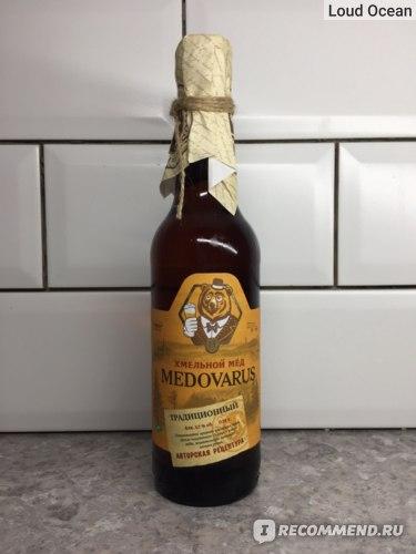 Хмельной мед Medovarus Традиционный фото