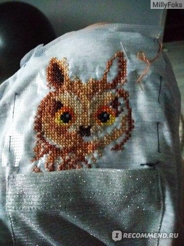 Набор для вышивания крестом М.П. Студия В-245 «Любопытная совушка»