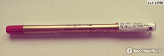 Карандаш для губ Max Factor Color Elixir Lip Liner фото