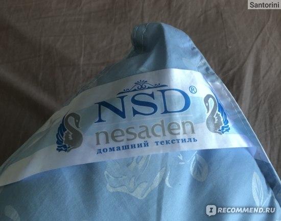 "Подушка NSD ""Лебяжий пух"" тик  фото"