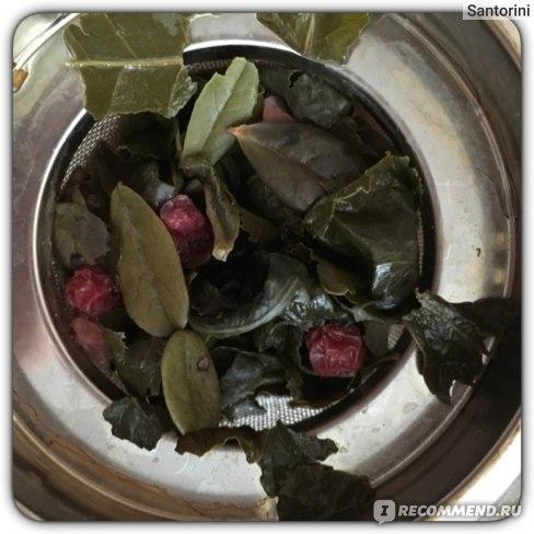 Чай зеленый Травушка Оолонг Красная и Черная Смородина фото