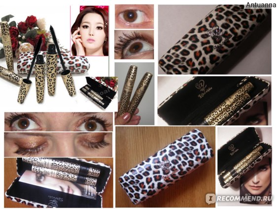 Тушь для ресниц Aliexpress   Leopard Eyelash Extension Lengthening Transplanting Fiber Mascara Grower Makeup фото