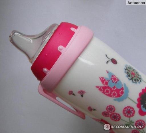 """Поильник Nuk Бутылочка-поильник NUK """"Active Cup"""", с силиконовым носиком,  300 мл, от 12 месяцев фото"""