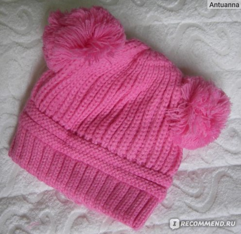 Шапка детская Tinydeal Stylish Knitted Earmuffs Cap Warm Keeping Cap Winter Hat for Kids Children NCH-130973 фото