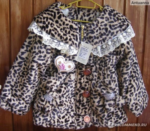 Пальто AliExpress New Arrival baby girls winter coat fashion leopard faux fur outerwear children top outfits free shipping  фото
