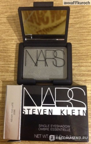 Тени для век NARS Eyeshadow фото