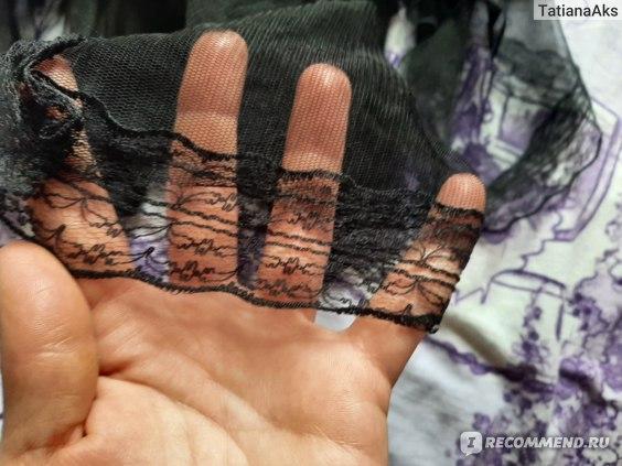 Комплект женского белья сорочка + стринги Aliexpress The Latest Black Allure, Taste, Fashion, Personalized Underwear, Women's Open Breast, Lace Tight And Sexy Skirt Suit, Plus Cotto. фото