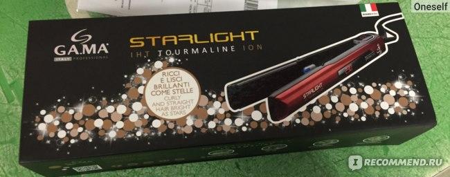 Выпрямитель волос GA.MA STARLIGHT DIGITAL TOURMALINE с технологией моментального нагрева  фото