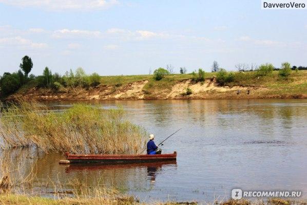 Рыбалка на реке Оке