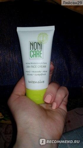 Увлажняющий крем для лица NONI CARE 24 часа фото