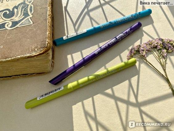 Карандаш Essence Long lasting eye pencil отзывы