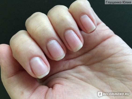 Ногти после нанесения системы