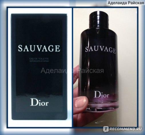Dior Sauvage фото