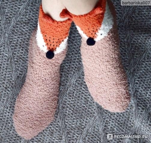 Носки Oriflame с лисами отзывы