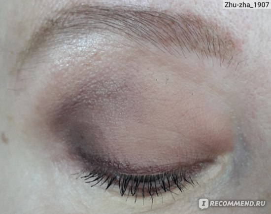 Тени для век Matt Tint Liquid Eyeshadow Waterproof 12H (Оттенок #106 Dusty mauve) (LUXVISAGE)