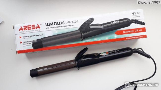 Щипцы для моделирования прически AR-3326 (Aresa)