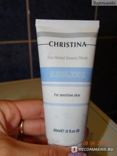 Маска для лица CHRISTINA Sea Herbal Beauty Mask AZULENE фото
