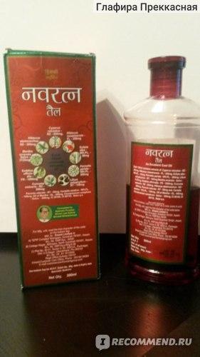 Активатор роста волос Himani Navratna oil фото