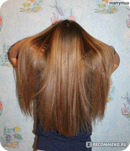 волосы после ламинирования желатином