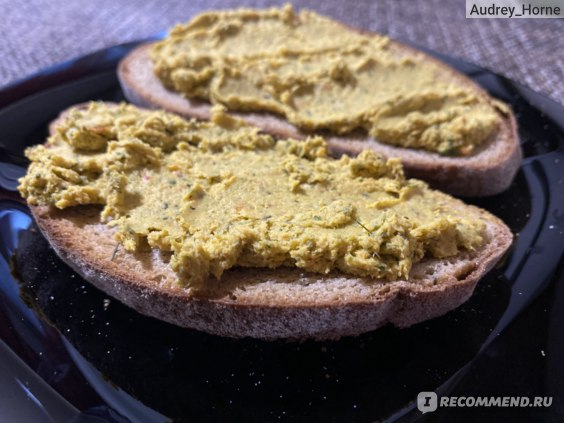 Бутерброды с домашним паштетом из курицы
