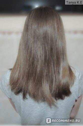Волосы после трех месяцев использования маски