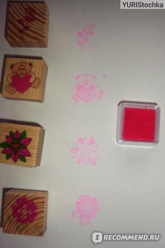 Набор для детского творчества Fix Price  Веселые штампики Play the Game фото