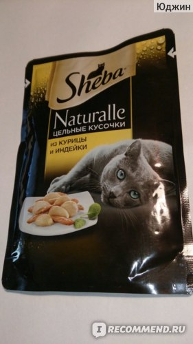 Консервы для кошек Sheba фото