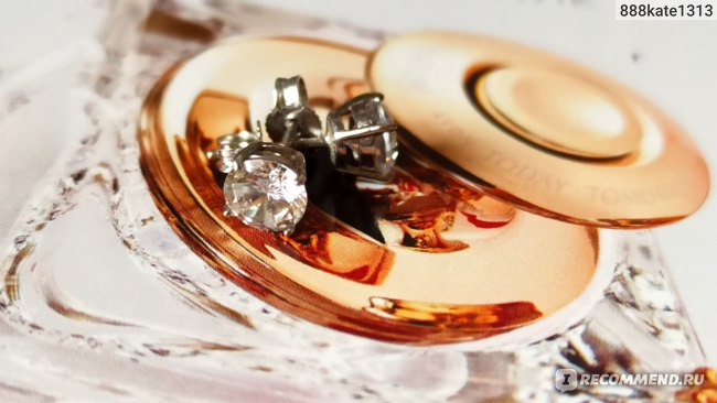 Серьги-пусеты Imagine Italia Фианит круглый 6 мм 11236915 фото