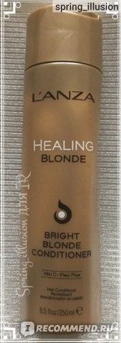 Кондиционер для волос L'anza Healing Blonde Bright Blonde Conditioner фото