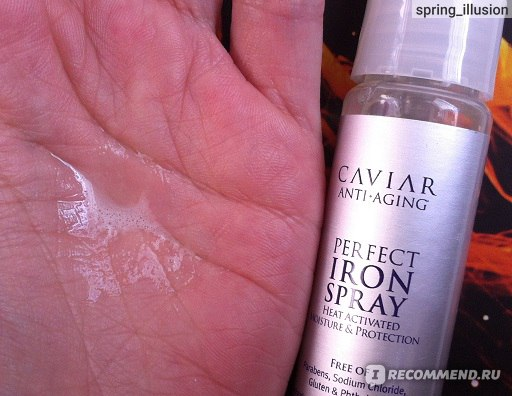 Спрей для волос Alterna Caviar Anti-Aging Perfect Iron Spray (термозащитный) фото