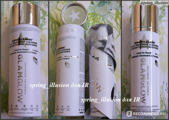 Пенка для умывания GLAMGLOW SuperCleanse Daily Clearing Cleanser Soin Nettoyant Purifant Quotidien фото