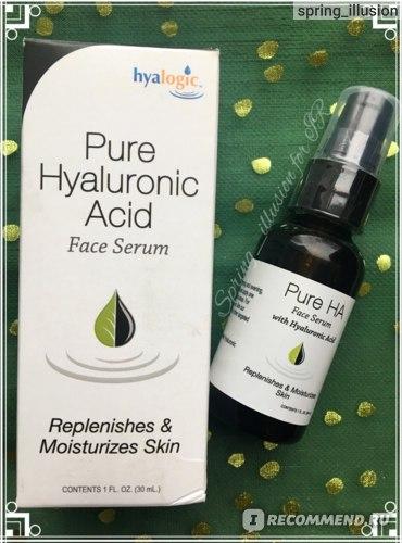 Сыворотка для лица Hyalogic Pure Hyaluronic Acid Face Serum фото