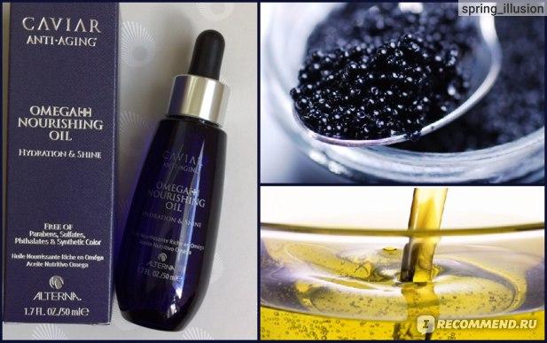Масло для волос Alterna Caviar Anti-Aging Omega + Nourishing Oil фото