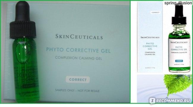 Увлажняющий успокаивающий гель для чувствительной кожи SkinCeuticals Phyto Corrective фото