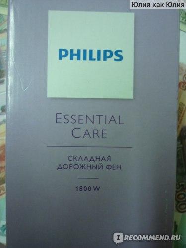 Фен Philips BHD007/00 фото