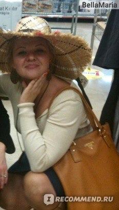 Носила её не щадя...фото в турецком супермаркете, была скидка на шляпы ))))