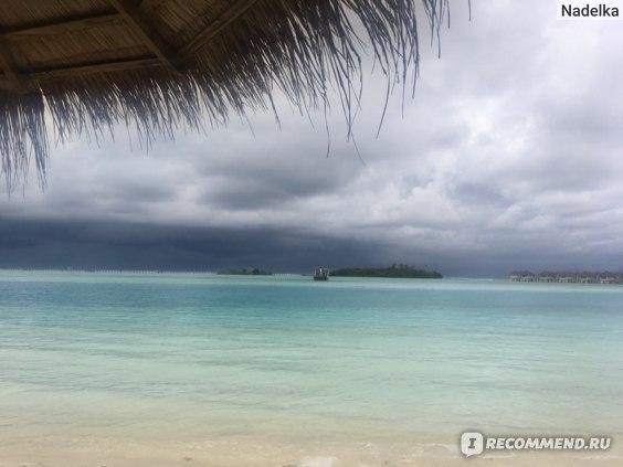 Мальдивы прекрасны даже в пасмурную погоду