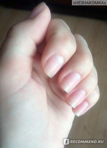 Ногти до покрытия гель-лаком