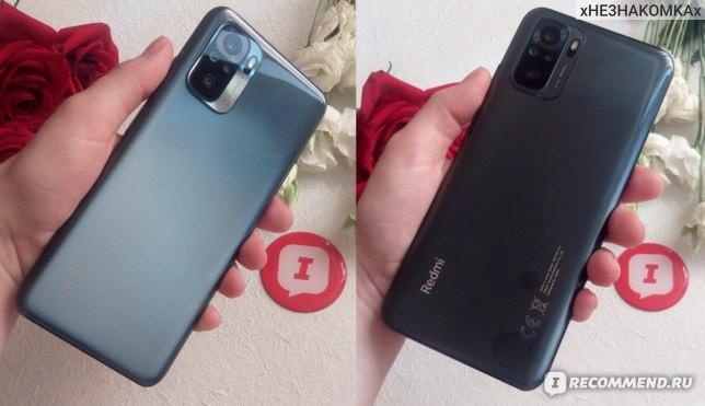 Xiaomi Redmi Note 10, отзыв. Onyx Gray