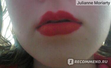 Помада-блеск Aliexpress 1pcs High Quality Moisture Matte Color Waterproof Lipstick Long Lasting Nude lip stick lipgloss red color vitality cerise star фото