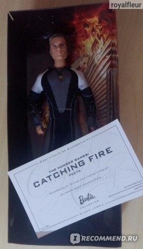 Barbie The Hunger Games: Catching Fire Peeta Mellark Doll / Голодные Игры: И вспыхнет пламя Кукла Пит Мелларк фото
