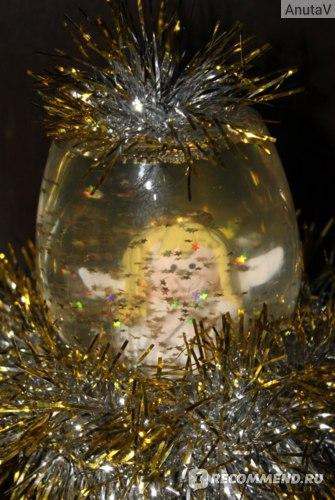 Снежный шар, сделанный нами дома