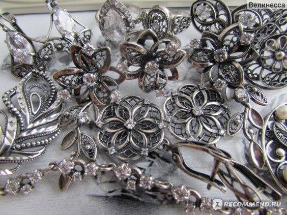 Изделия в оксидированном серебре