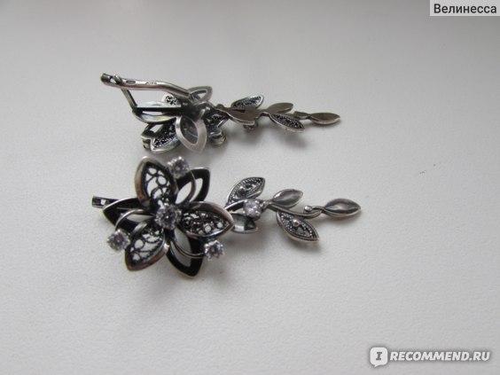Серьги Красная Пресня серебряные с фианитами Арт. 3381314