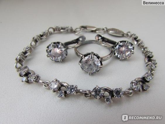 Серебряные изделия  с оксидированием