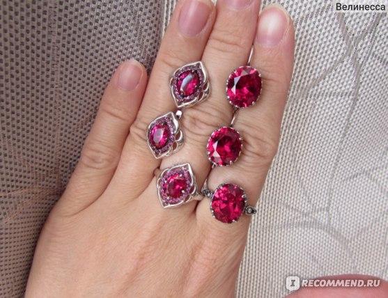 Рубиновые корунды от Sokolov и от Красной пресни