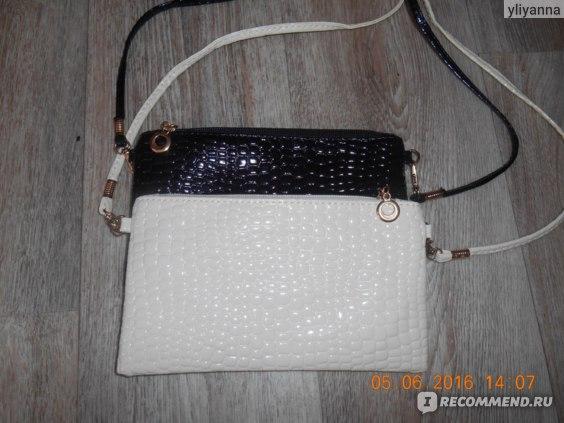 Клатч Aliexpress 2015 Women Leather Handbags Crocodile Messenger Crossbody Clutch Shoulder Handbag Purse For Women Bag фото