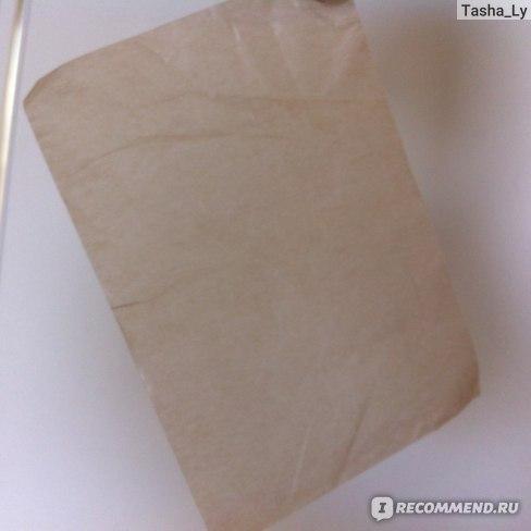 Салфетка после использования